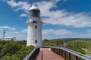 Start your walk at Cape Naturaliste Lighthouse, WA